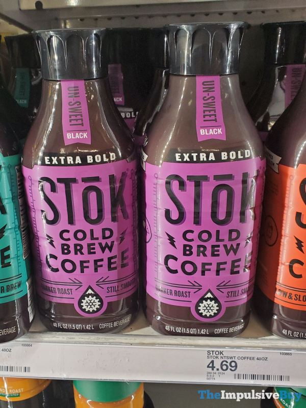 Stok Extra Bold Un Sweet Cold Brew Coffee