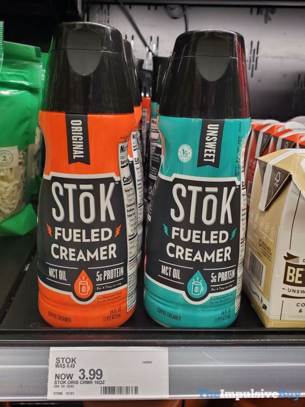 Stok Fueled Creamer  Original and Unsweet