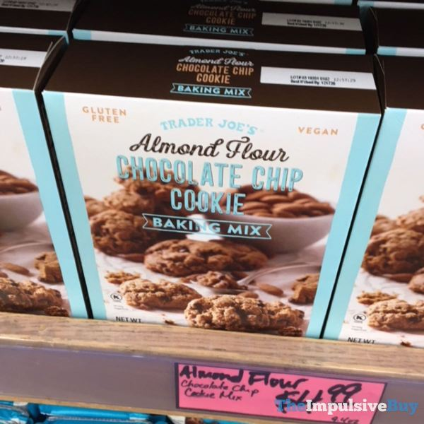 Trader Joe s Almond Flour Chocolate Chip Cookie Baking Mix