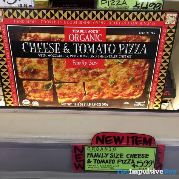 Trader Joe s Organic Cheese  Tomato Pizza Family Size