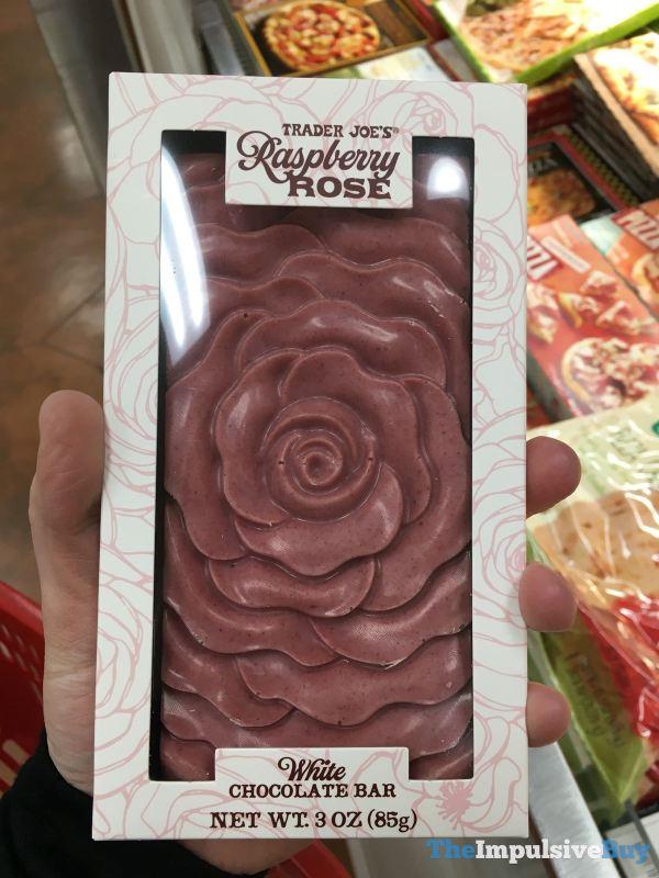 Trader Joe s Raspberry Rose White Chocolate Bar