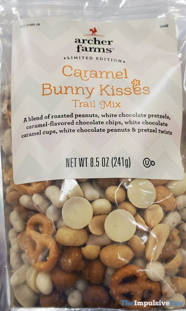 Archer Farms Limited Edition Caramel Bunny Kisses Trail Mix