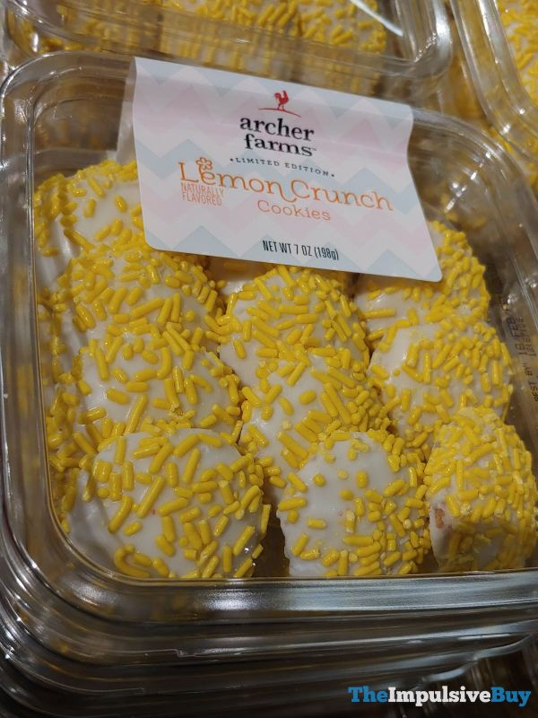 Archer Farms Limited Edition Lemon Crunch Cookies