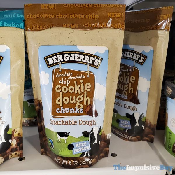 Ben  Jerry s Chocolate Chocolate Chip Cookie Dough Chunks