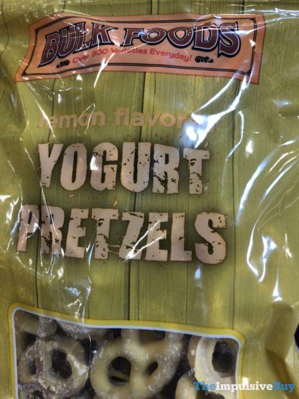 Bulk Foods Lemon Flavored Yogurt Pretzels