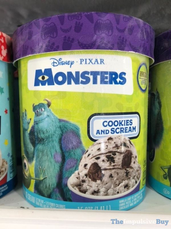 Disney Pixar Monsters Cookies and Scream Ice Cream