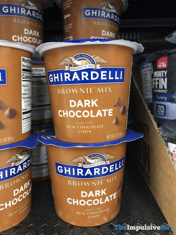 Ghirardelli Dark Chocolate Brownie Mix Single Serving