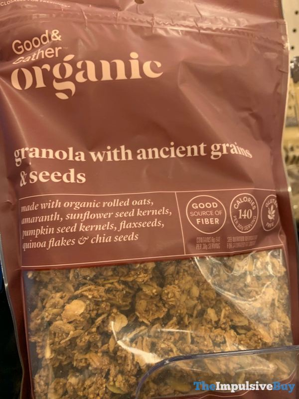 Good  Gather Organic Granola with Ancient Grains  Seeds