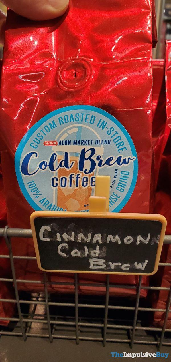 H E B Alon Market Blend Cinnamon Cold Brew Coffee