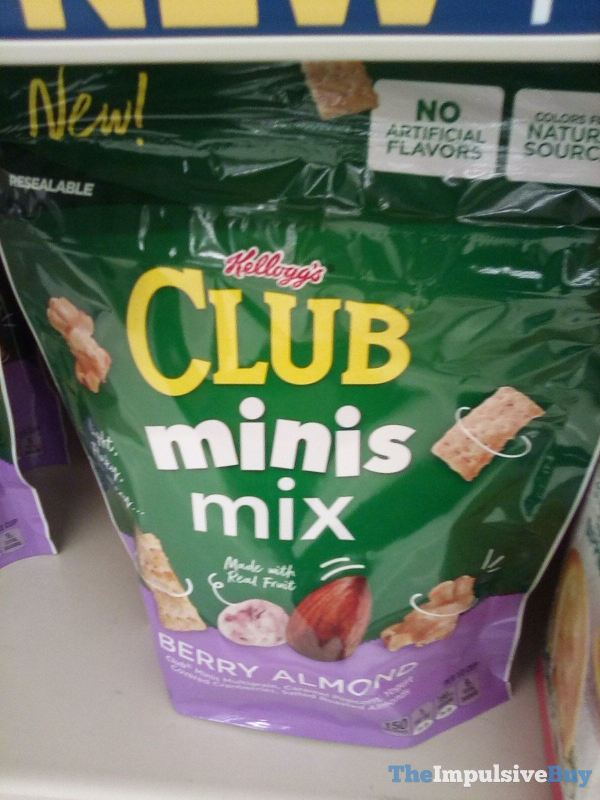 Kellogg s Club Minis Mix Berry Almond