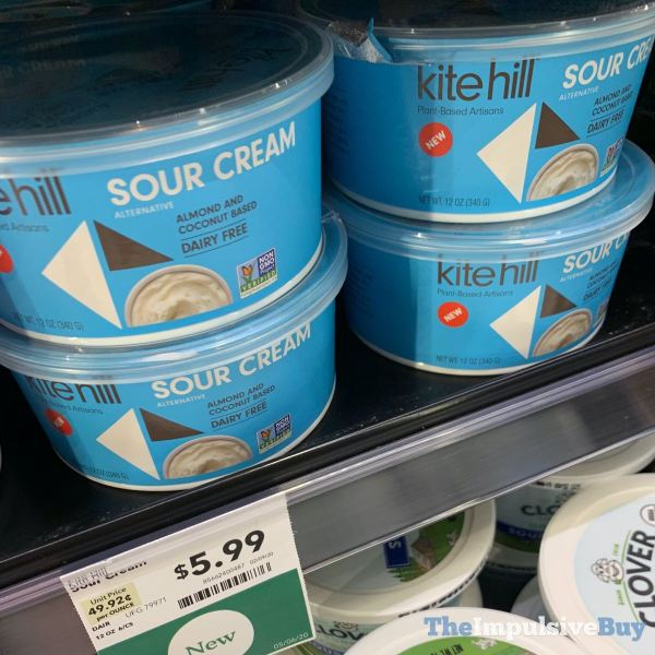 Kite Hill Almond and Coconut Based Sour Cream Alternative