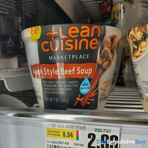 Lean Cuisine Marketplace Asian Style Beef Soup