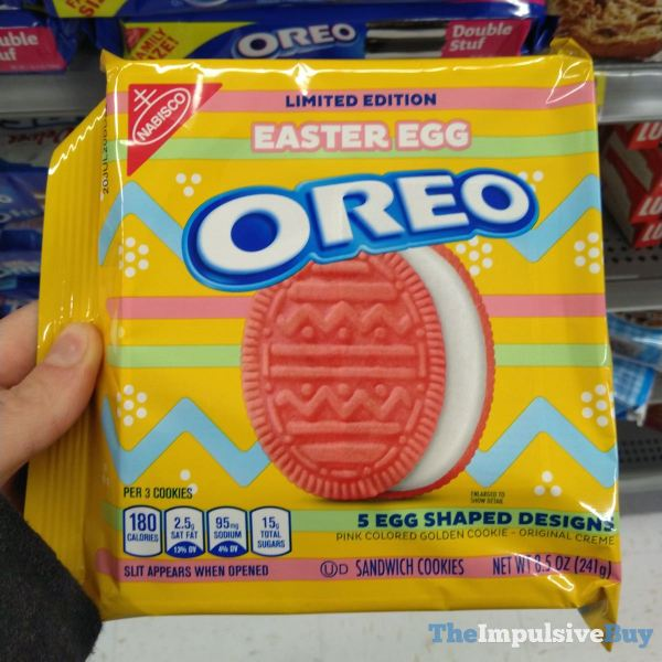 Limited Edition Easter Egg Oreo  2020