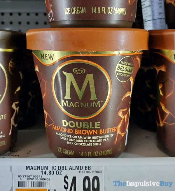 Magnum Double Almond Brown Butter Tub