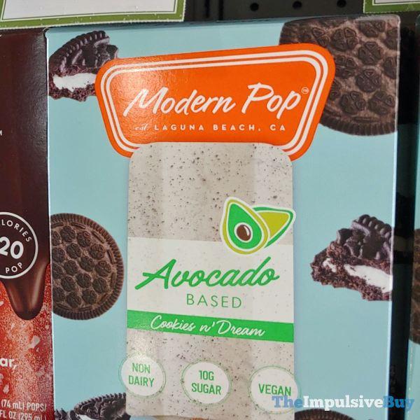 Modern Pop Avocado Based Cookies n Dream Frozen Dessert Bars