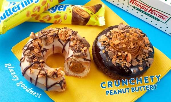 News Krispy Kreme Butterfinger Doughnuts