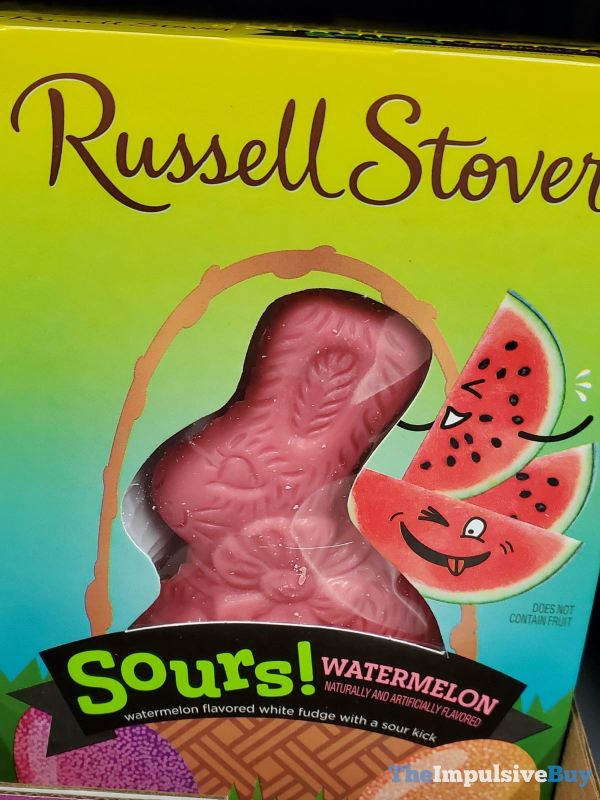 Russell Stover Sours Watermelon Bunny