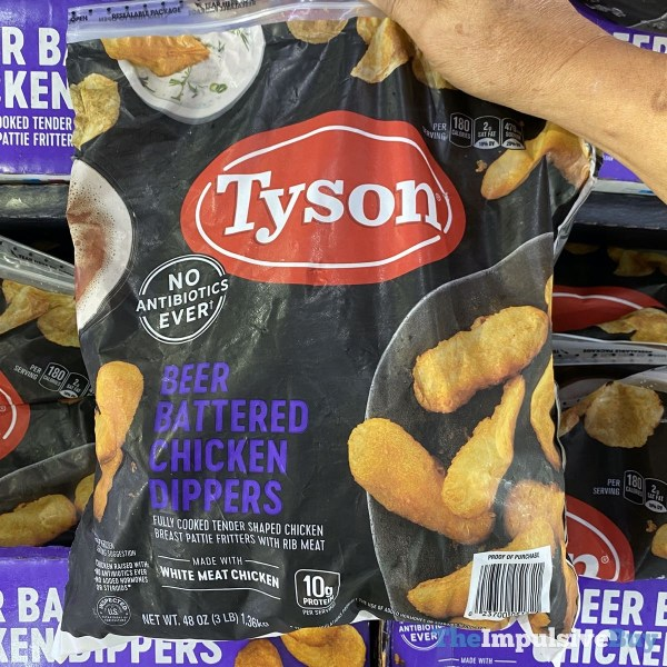 Tyson Beer Battered Chicken Dippers