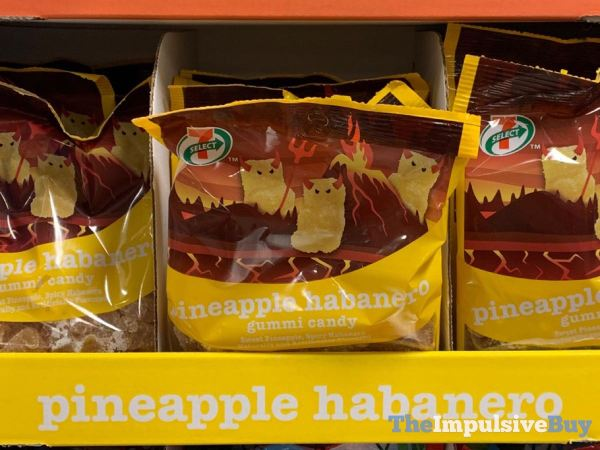7 Select Pineapple Habanero Gummi Candy