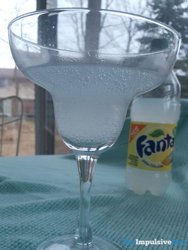 Fanta Pina Colada Outdoors