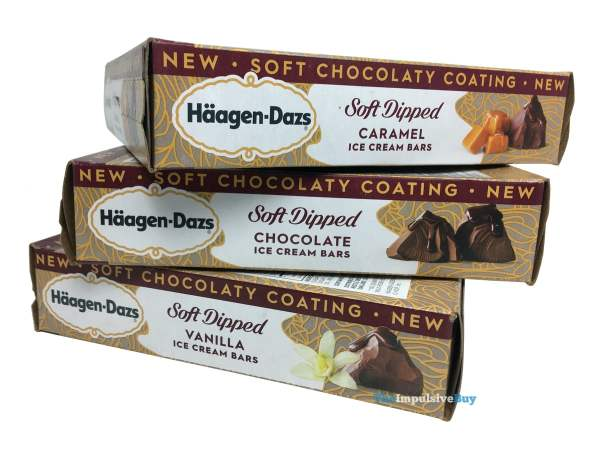 Haagen Dazs Soft Dipped Ice Cream Bars