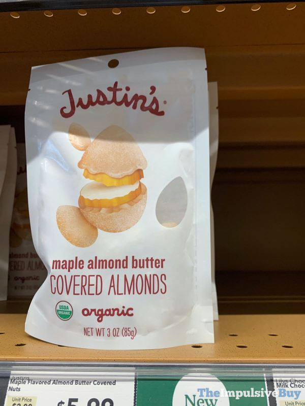 Justin s Maple Almond Butter Covered Almonds