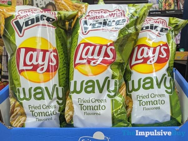Lay s Wavy Fried Green Tomato Potato Chips  2020