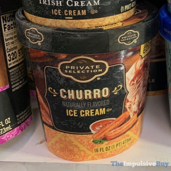 Private Selection Limited Edition Churro Ice Cream