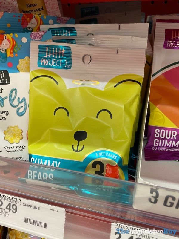 Project 7 Gummy Bears