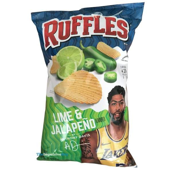 Ruffles Lime  Jalapeno Potato Chips