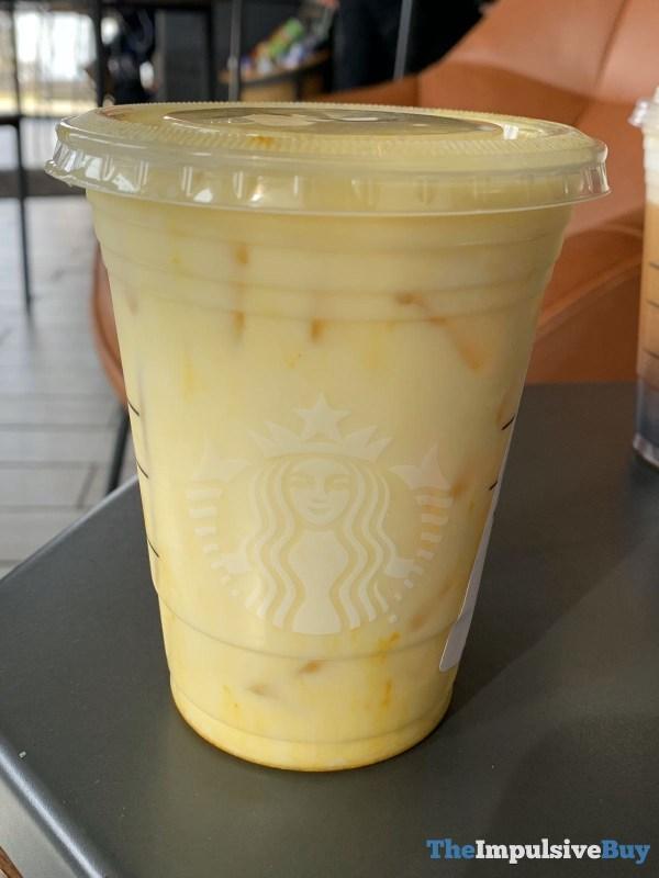 Starbucks Iced Golden Ginger Drink
