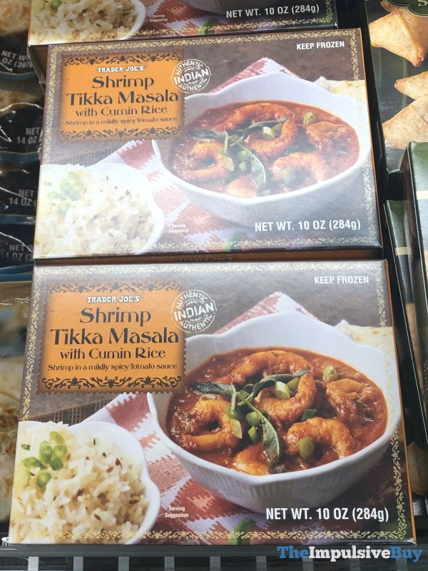 Trader Joe s Shrimp Tikka Masala with Cumin Rice