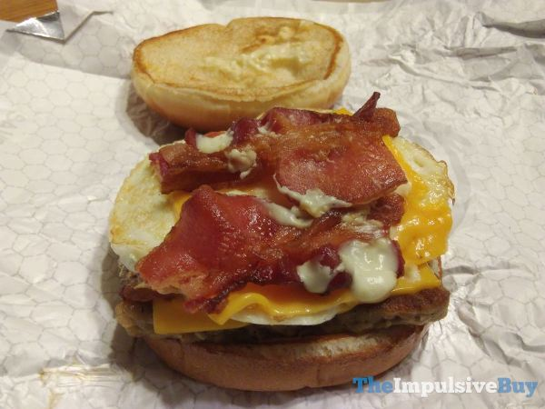 Wendy s Breakfast Baconator 2