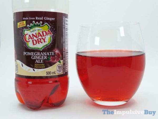 Canada Dry Pomegranate Ginger Ale 2
