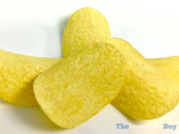 Chicken  Waffles Pringles Closeup