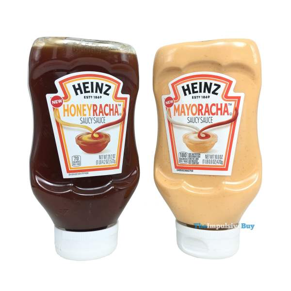 Heinz Honeyracha and Mayoracha Saucy Sauces
