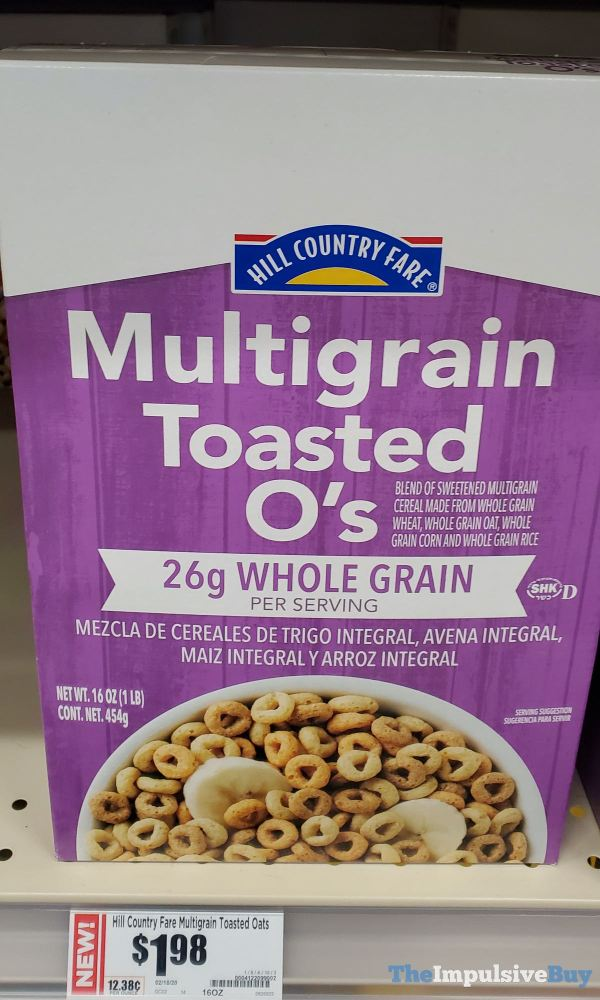 Hill Country Fare Multigrain Toasted O s