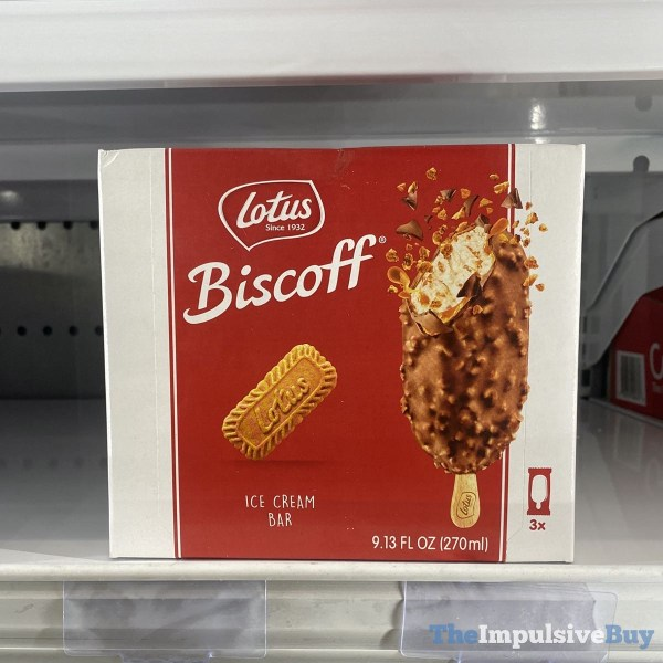 Lotus Biscoff Ice Cream Bars