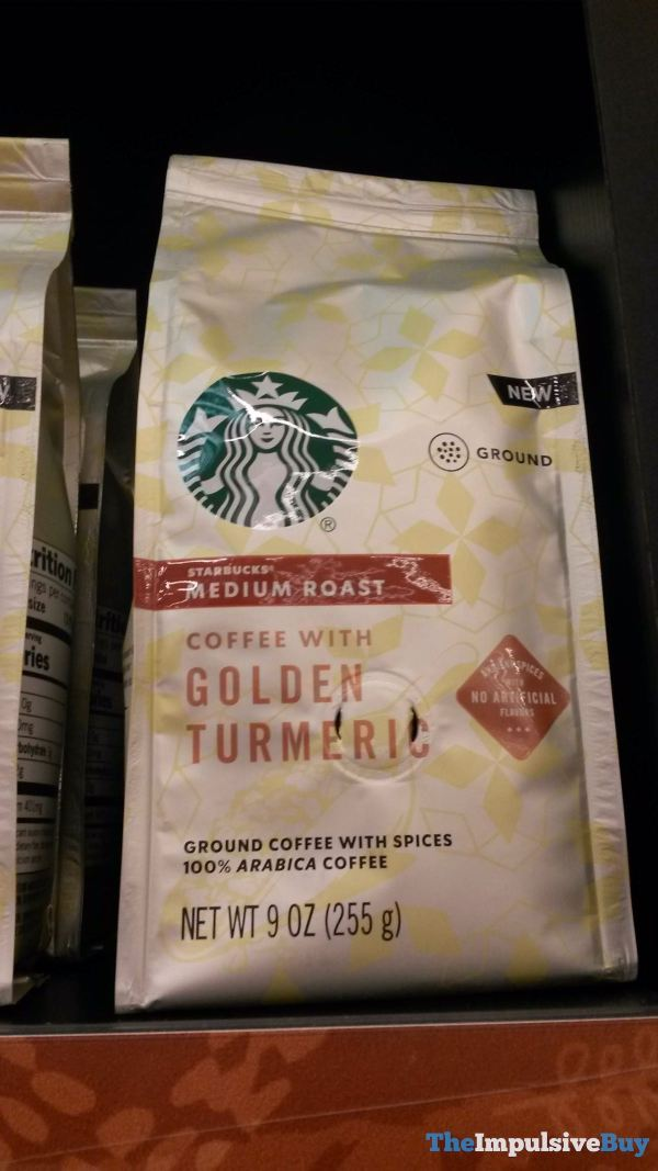 Starbucks Coffee with Golden Turmeric Ground Coffee