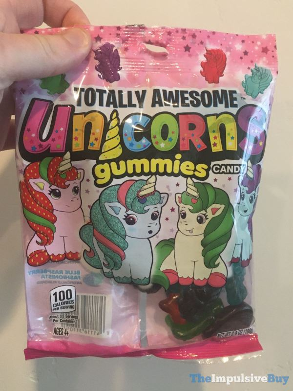 Totally Awesome Unicorns Gummies