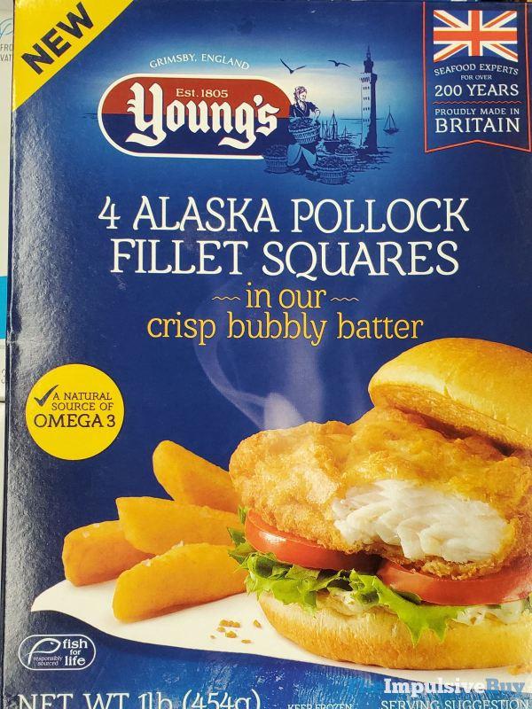Young s Alaska Pollock Fillet Squares