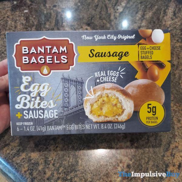Bantam Bagels Egg Bites + Sausage