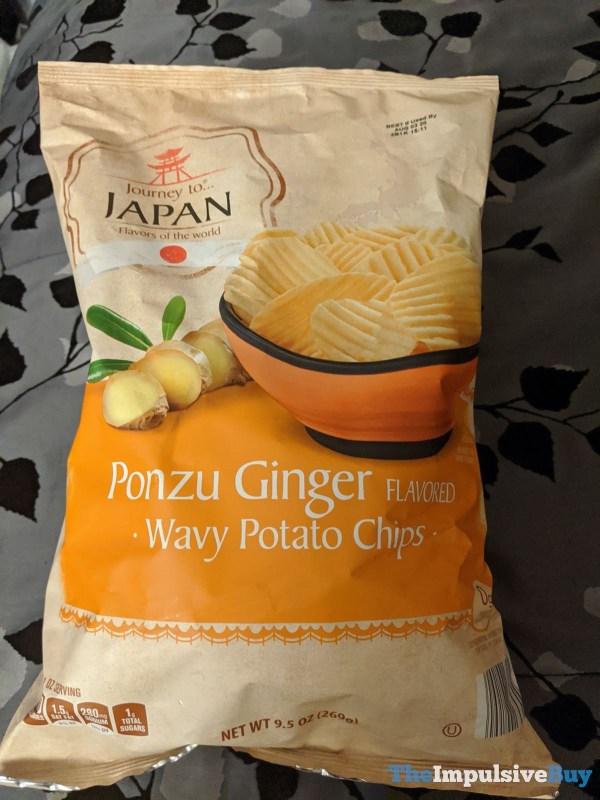 Journey to Japan Ponzu Ginger Wavy Potato Chips