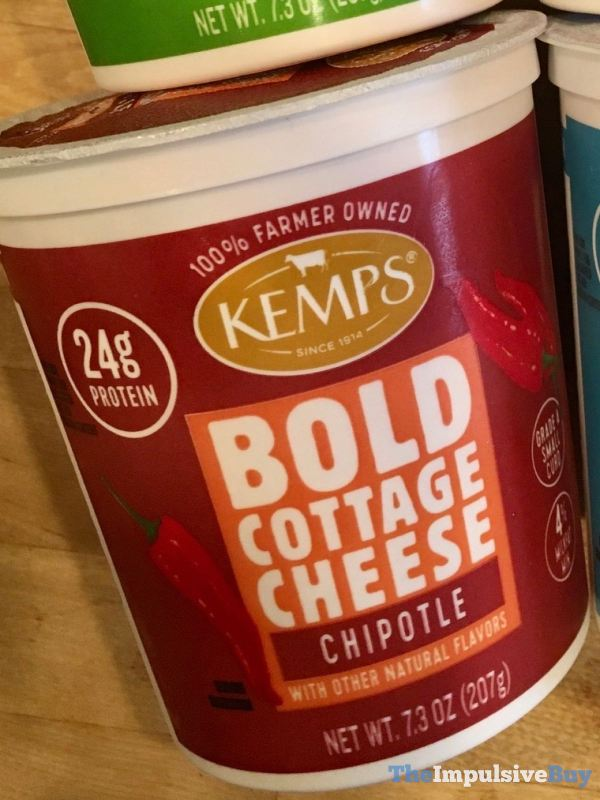 Kemps Bold Cottage Cheese Chipotle