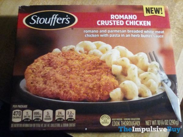 Stouffer s Romano Crusted Chicken