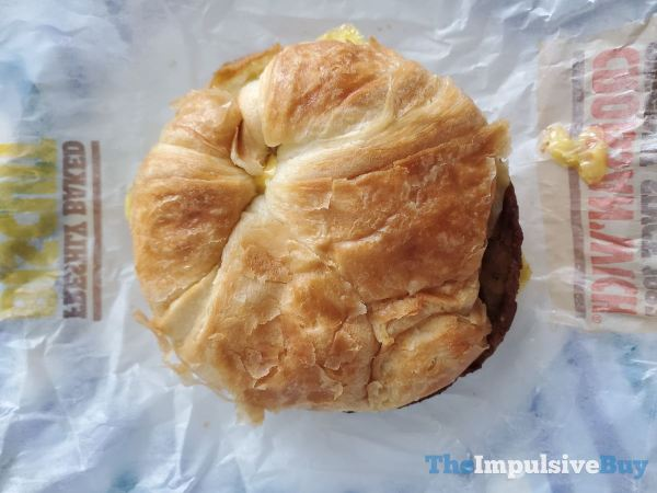 Burger King Impossible Croissan wich
