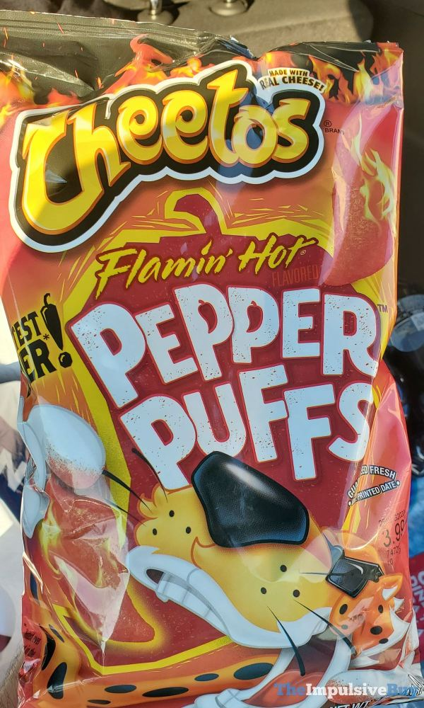 Cheetos Flamin Hot Pepper Puffs