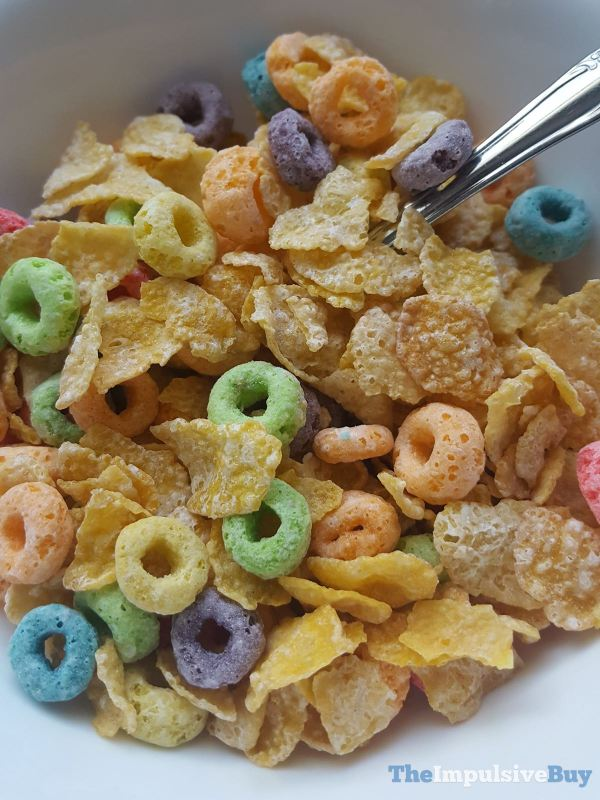 Kellogg s Limited Edition Mashups Frosted Flakes + Froot Loops Cereal 2