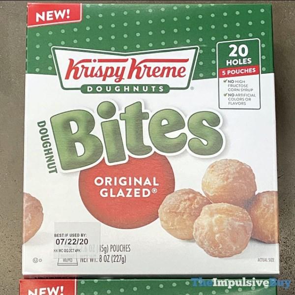Krispy Kreme Doughnut Bites Original Glazed