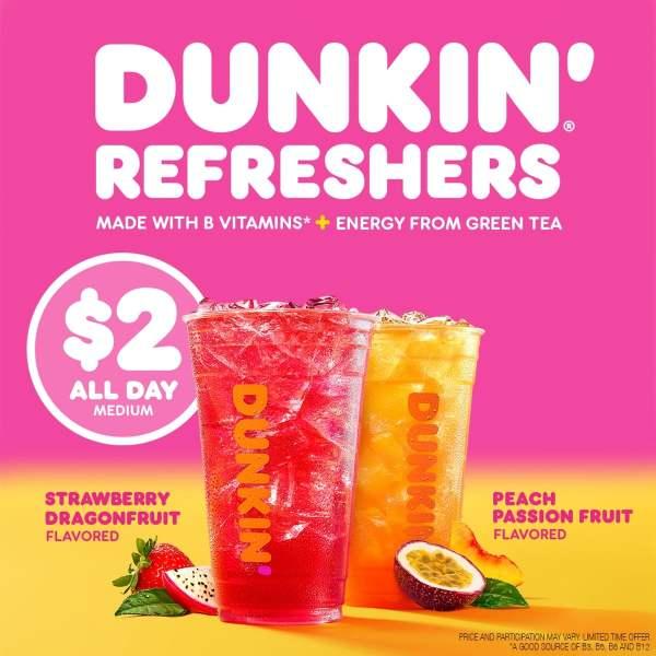 News Dunkin Refreshers